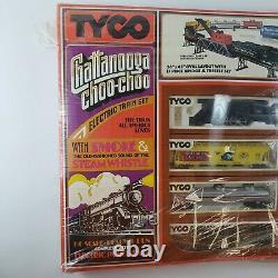 1975 TYCO Chattanooga Choo-Choo Train Set HO READY TO RUN Bridge Smoke & Whistle