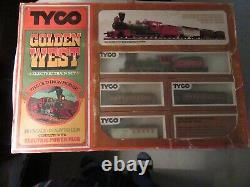 1976 Tyco Golden West Electric Train Set-Old Iron Horse HO Scale Ready To Run