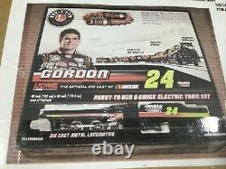 2013 Lionel Jeff Gordon Scout Ready To Run Train Set Mint In Box Racing NASCAR