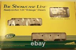 2 S Helper Service FA&B locomotive sets undec. S scale ready to run FREE SHIPPIG