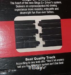 66' AFX Tomy Giant Raceway Race HO Slot Car Track Set, 100% Ready To Run/NEW Cars