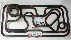 91' Mega 54 x 111 AFX Tomy Giant Raceway Track Slot Car Set 100% Ready To RUN