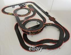 AFX Tomy 41' Giant Raceway Track POLICE Slot Car Set 72 x 42 100% Ready To RUN