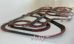 AFX Tomy 70.5' Mega Giant Raceway Track Slot Car Set, 4' x 8' 100% Ready To RUN