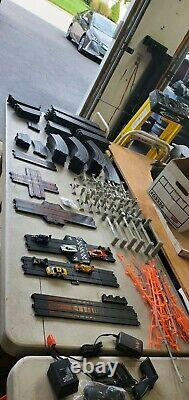 AFX Tomy Mega Giant Raceway Track Slot Car Set, 4' x 8' 100% Ready To RUN