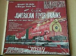 American Flyer 2009 Christmas Set Ready to run! Still Sealed NIB AMF 49621