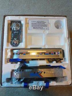 Amtrak Ready-To-Run O-Gauge Remote Train Set (FT Passenger) LIGHTLY USED