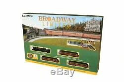 BACHMANN 24026 N Scale Train Set The Broadway Limited STEAM READY TO RUN