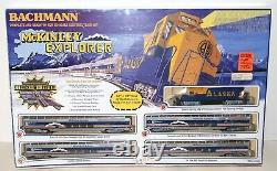 BACHMANN Complete & Ready to Run HO Scale Electric Train Set McKINLEY EXPLORER