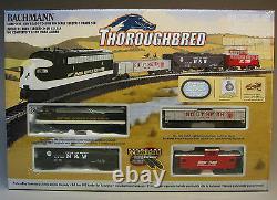 BACHMANN HO THOROUGHBRED TRAIN SET READY TO RUN 691 NS steam engine BAC00691 NEW