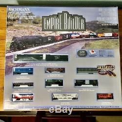 BACHMANN N Gauge Empire Builder #24009 Complete & Ready To Run Train Set