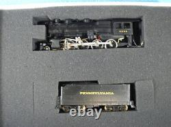 BOWSER PRR H-9 Consolidation Ready to Run boxed set #500900, beautiful 2-8-0