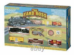 BRAND NEW! Bachmann 24014 Yard Boss N Scale Ready to Run Electric Train Set