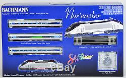 Bachman 01313 Train Set Acela HHP-8 Locomotive Complete Ready To Run Nor'easter
