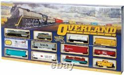 Bachmann 00614 HO Scale Overland Limited Ready to Run Train Set (Open Box)