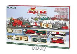Bachmann 00724 Jingle Bell Express HO Scale Ready To Run Train Set
