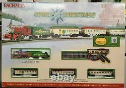Bachmann 24017 N Scale Spirit Of Christmas Ready To Run Train Set New Nib