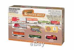 Bachmann 24021 N Scale F7a Super Chief Train Set Ready To Run