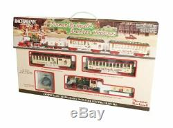 Bachmann 25023 On30 Norman Rockwell American Christmas Set READY TO RUN