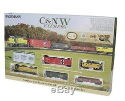 Bachmann CN&W Express Ready To Run HO Gauge Train Set