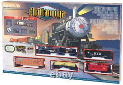 Bachmann Chatanooge Complete Ready-To-Run HO Scale Electric Train Set #00626