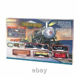 Bachmann Chatanooge Complete Ready-To-Run HO Scale Electric Train Set #00626 LN