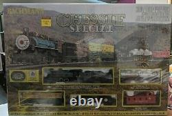 Bachmann Chessie Special Ready-to-Run HO-Scale Electric Train Set 00750 NEW
