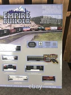 Bachmann Empire Builder Electric E-Z Track Ready to Run Train Set N Scale #24009