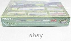 Bachmann HO 00750 Chessie Special Train Set Ready To Run Lights Up New & Sealed