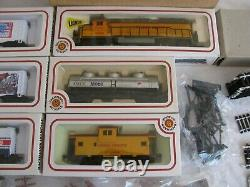 Bachmann HO Complete Ready to Run Budweiser Promotional Train Set #AA400402C EX