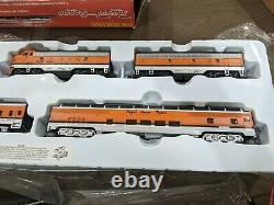 Bachmann HO Royal Gorge Passenger Ready to Run Train Set 00689 complete in box