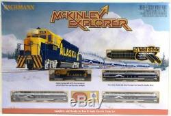 Bachmann Industries McKinley Explorer Ready To Run Electric Train Set Train Car