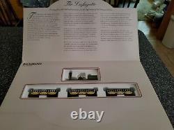 Bachmann Lafayette Complete Ready To Run Ho Scale B & O Train Set Nos No. 00628
