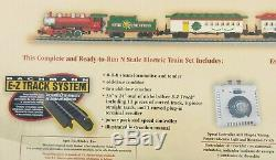 Bachmann Model Train Set Spirit of Christmas N Scale Ready to Run Electric New