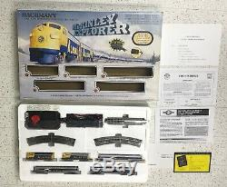 Bachmann N Gauge McKinley Explorer Complete Ready to Run Alaska Diesel Train Set