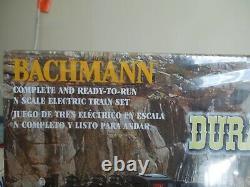 Bachmann N scale DURANGO & SILVERTON electric train set Complete & Ready to Run