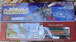 Bachmann Night Before Christmas Ready To Run Electric Train Set, Large G Scale