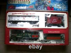 Bachmann Night Before Christmas Train Set Ready To Run Electric Large G Scale