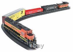 Bachmann Rail Chief Ready-to-Run HO Scale Electric Train Set 00706