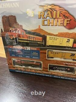 Bachmann Rail Chief Ready-to-Run Scale HO Electric Train Set 00706 NEW SEALED