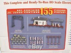 Bachmann Ready To Run HO Scale Chattanooga Electric Train Set 00626 NIB