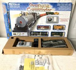 Bachmann Train Steam Digital Commander Ready to Run HO Train Set