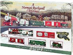 Bachmann Trains A Norman Rockwell Christmas Ready To Run Electric Train Set