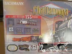 Bachmann Trains Chattanooga Ready To Run 155 Piece Elec Train Set HO read desc