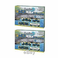 Bachmann Trains Coastliner Ready-To-Run Freight Train Set, HO Scale (2 Pack)