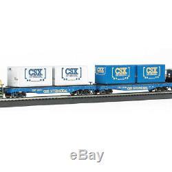 Bachmann Trains Coastliner Ready-To-Run Freight Train Set, HO Scale 734-BT