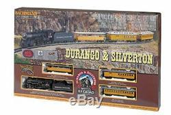 Bachmann Trains Durango & Silverton Ready To Run Electric Train Set HO