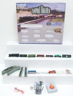Bachmann Trains Empire Builder N Scale Ready to Run Electric Train Set for