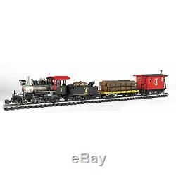 Bachmann Trains G Scale Large North Woods Logger Ready To Run Electric Train Set