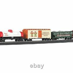 Bachmann Trains HO Scale Jingle Bell Express Ready To Run Electric Train Set New